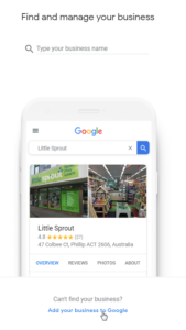 Add your business on Google
